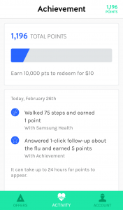Achievement App - Earn Money to Exercise