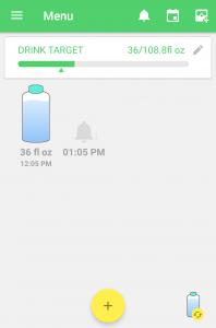 Water Drink Reminder Android App Screenshot