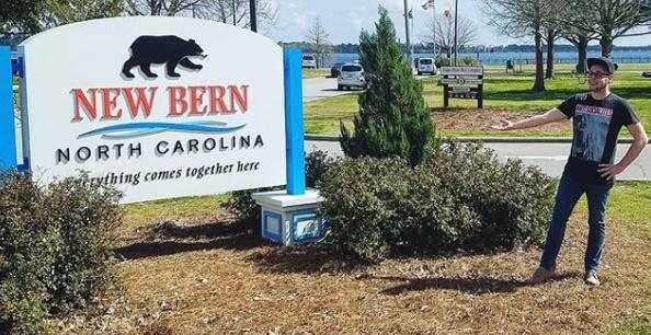Austin Moore in New Bern North Carolina