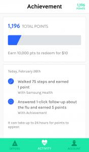 Achievement App - Earn Money to Exercise