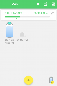 Water Drink Reminder Android App Screenshot